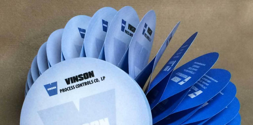 Vinson Process Control SLicky Note Pads close up