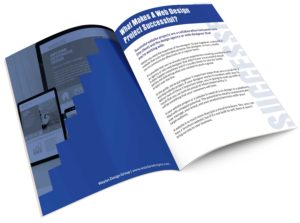 5 Steps To A Winning Website Project E-book inside view.
