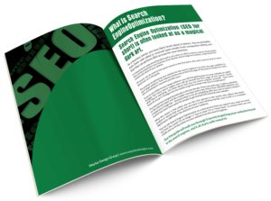 5 Secrets To Getting Your Website Found Online ebook inside view.